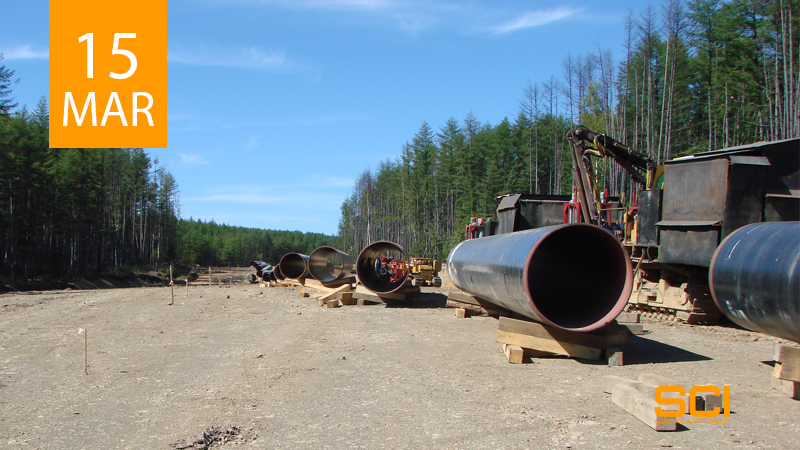 gasoducto toledo end