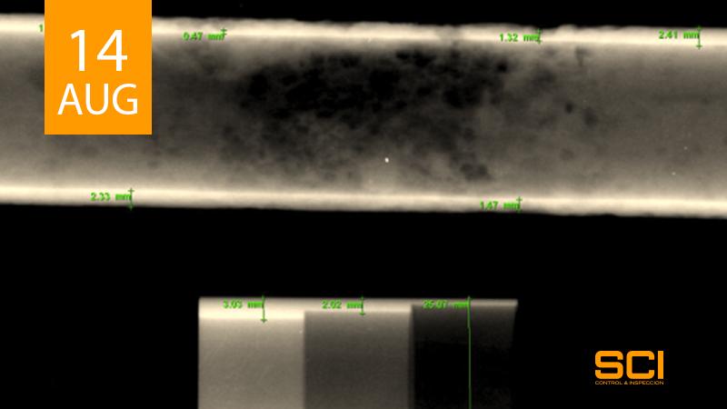 radiografia industrial digital
