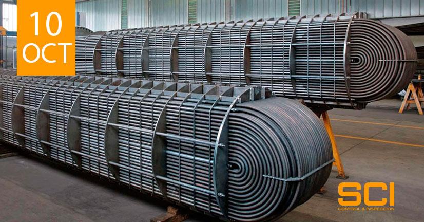 Inspección de equipos y materiales industriales